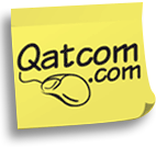 Qatcom Logo for Qatar's online Yellow Business Pages Directory